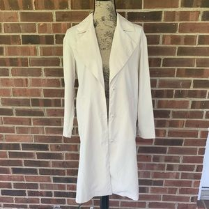 H&M light weight long trench coat
